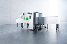 @TRUMPFinc Revolutionary in its modular design, the TruMatic 1000 fiber is an entry-level punch/laser machine featuring an electric punch and solid-state laser.
