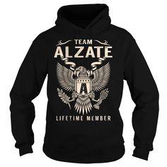 Team ALZATE Lifetime Member - Last Name, Surname T-Shirt