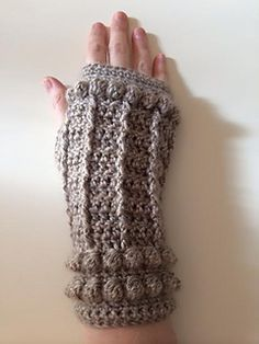Inspired by the fae-like Geillis Duncan, these gauntlets will keep your hands toasty as you browse the gardens of Leoch for herbs. Worked flat and seamed, there are no elaborate construction techniques required to create the thumbhole – just skip a few stitches when seaming to create your opening and single crochet around to tidy up. Knowledge of some decorative crochet stitches is required, but there are many YouTube resource videos available to learn these stitches. Once you understand the…