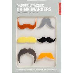 If His 'Stache Does the Talking