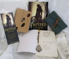 Win a book box giveaway from the book Twisted: The Girl Who Uncovered Rumpelstiltskin's Name. Post a picture from my board and like my board for a chance to win! Contest winner announced December 9, 2016.