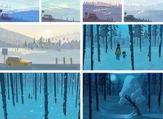 Casperade - winter backgrounds on Behance