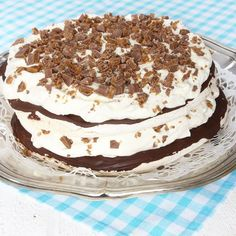 No Bake Desserts, Dessert Recipes, Fika, Pavlova, No Bake Cake, Afternoon Tea, Vanilla Cake, Food Inspiration, Tiramisu