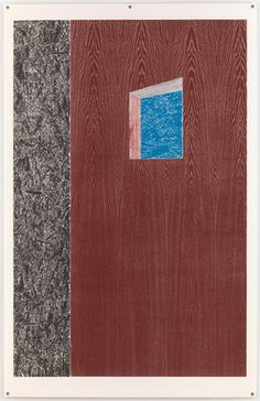 Untitled from Woodcuts (one for a portfoliio of nine woodcuts by Thomas Schütte (German, born Woodcut. Marc Camille Chaimowicz, Museum Of Modern Art, Moma, Printmaking, Contemporary Art, Symbols, Shapes, Texture, Drawings