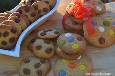 Las recetas de chispa: Cookies de lacasitos & conguitos