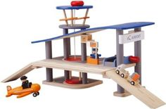 Plan Toys City Series Airport: Toys & Games