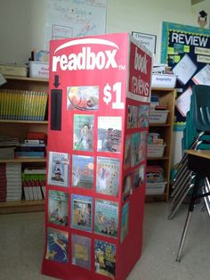 "Awesome technology based project called the ""Readbox"" project!  It is a learning platform for students to deepen their awareness of reading concepts while creating book trailers advertising books they have read and love in order to persuade others to read.  During the process, students create QR codes that are able to be scanned by anyone with a smartphone or tablet in order to view the book trailer advertisements prior to checking out the books from the school's media center."