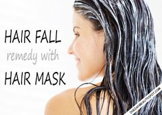 Hair fall remedy with hair masks : ♥ IndianBeautySpot.Com ♥