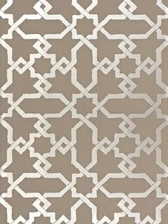 DecoratorsBest - Detail1 - Sch 5005922 - Cordoba - Taupe Silver - Wallpaper - - DecoratorsBest