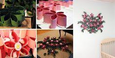Κατασκευές με Ρολό Χαρτιού Rolled Paper Art, Planter Pots, Holiday Decor, Blog, Toilet Paper Rolls, Good Ideas, Paper Envelopes, Flowers, Blogging