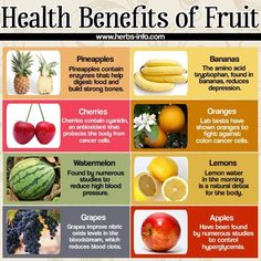 Health Benefits of Fruit [infographic] - Holistic Health Journal Fruit Benefits, Green Tea Benefits, Health Benefits, Health Tips, Health And Wellness, Wellness Tips, Real Food Recipes, Healthy Recipes, Healthy Food