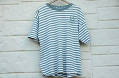 Vintage 80s-90s Striped Monterey California by SycamoreVintage