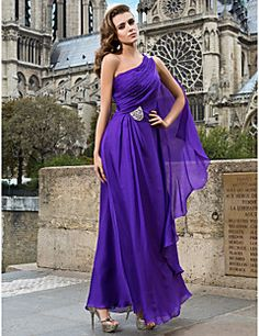 ZEHAVA - Vestido de Noche de Gasa – USD $ 129.99
