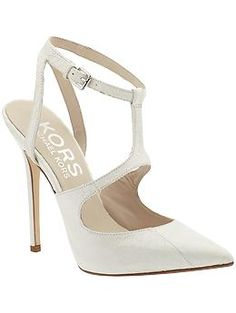 This is a necessity for Spring! KORS Michael Kors Adrielle pump.