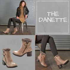 Fashionstas, keep your cold weather style on point with the Danette! Our SDS (Stay Dry System) helps protect from the elements in a boot that's totally chic for your winter looks.