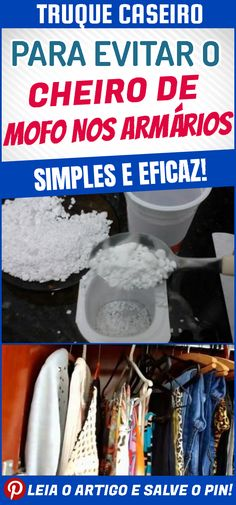17ceb8a9136 Truques simples para evitar o cheiro de mofo nos armários