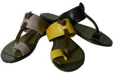 Flip flops with leather sole by Lili Mill summer 2015
