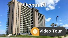 Ocean 14 is one of the larger and taller condominiums on the ocean in Jacksonville Beach. Ocean 14 has 17 floors with 259 units in total that range in sie from Oceans 14, Beach Video, Jacksonville Beach, Condos, Condominium, The Unit, Tours, Building, Pictures