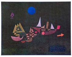 Departure of the Ships, 1927, Paul Klee