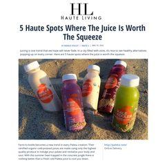 PALETA featured in Haute Living!