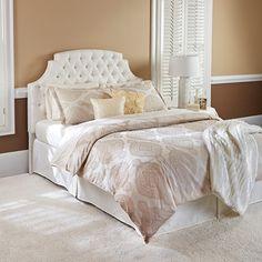 Ivory Bedding, Bedding Sets, Eye For Detail, White Decor, Different Fabrics, Duvet Covers, House Design, Pride, Bedrooms