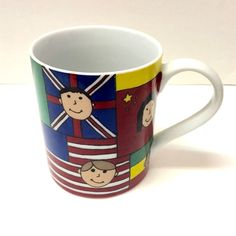 Save the Children Flags of the World Teacher International Coffee Mug
