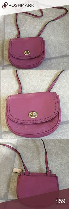 Authentic coach small cross body Like new. Used a few times Coach Bags Crossbody Bags