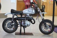 NEW MINI INDIAN MM5A MINI BIKE NEW # PLATE VINTAGE MOTOCROSS