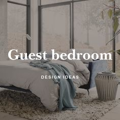 Get our best tips on how to design a guest bedroom that is comfortable and cozy.