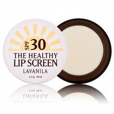 Lavanila Laboratories The Healthy Lip Screen, SPF 30 Face Wash, Body Wash, Beauty Skin, Beauty Makeup, Cruelty Free Makeup, Summer Beauty, Sunscreen, Natural Skin Care, Makeup Tips