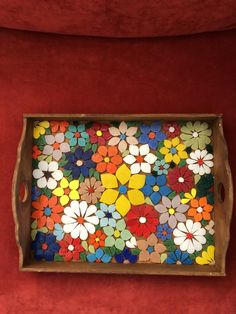 26 Coolest Wooden Home Crafts - Room Dekor 2021 Mosaic Tray, Mosaic Glass, Mosaic Tiles, Glass Art, Mosaic Crafts, Mosaic Projects, Stained Glass Patterns, Mosaic Patterns, Mosaic Furniture