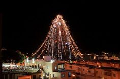#NavidadenAndalucía: el árbol de Navidad más grande de Andalucía, en Huércal de Almería (Almería) / Christmas in Andalucía: the biggest Christmas tree of Andalucía is located in Huércal de Almería (Almería)