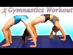 Flexibility Stretches & Lean Strong Arms Workout For Dance, Gymnastics & Cheerleading - YouTube