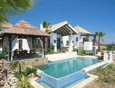 villa estilo mediterraneo - Buscar con Google