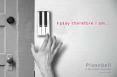 Pianobell - Only let in the friends that know the secret tune :)