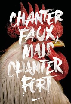 Chanter faux, mais chanter fort - Nike