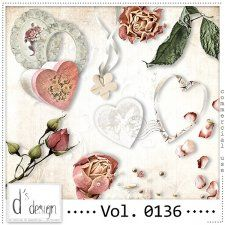 Vol. 0136 - Vintage Mix  by Doudou's Design  #CUdigitals cudigitals.com cu commercial digital scrap #digiscrap scrapbook graphics