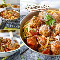 Fit masové kuličky v rajčatové omáčce - recept Bajola Fitness, Paleo, Menu, Ethnic Recipes, Food, Menu Board Design, Meal, Essen, Hoods