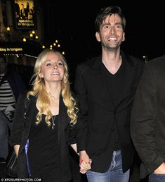 David Tennant and His Wife | David Tennant wedding: Newlyweds pictured a day after their wedding ...