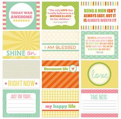 Gorgeous new printables for PL from.crystalwilkerson.con