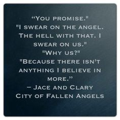 Jace and Clary City of fallen angels