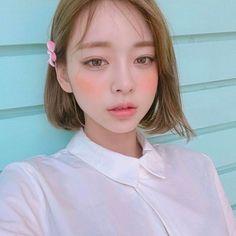 Read from the story ulzzang girls Korean Short Hair, Korean Girl, Asian Girl, Korean Beauty, Asian Beauty, Natural Beauty, Bob Rubio, Color Fantasia, Asian Cute