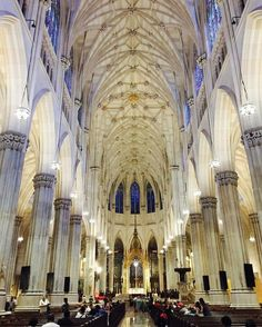 Saint Patrick's Cathedral, Fifth Avenue & 51st Street. : @fernpoppin via Instagram