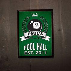 Jagermeister Pool Table Felt Bar Pinterest Pool Table Felt - Pool table signs personalized