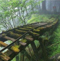 Railroad decay...