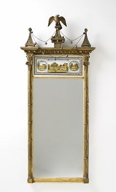 Antique Mirrors on Pinterest | Regency, Mirror and Federal