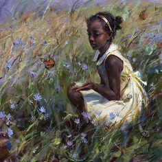 View original oil paintings by Daniel Gerhartz, a living master of American painting. African American Art, African Art, Arte Black, Classical Art, Renaissance Art, Old Art, Pretty Art, Aesthetic Art, Oeuvre D'art