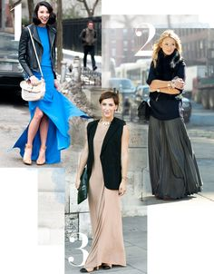 3 Ways to Wear a Maxi in March