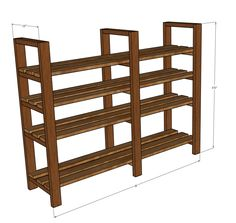 DIY pantry shelf DIY Pantry Shelf – Handmade Haven - Experience Of Pantrys Furniture Makeover, Diy Furniture, Basement Shelving, Diy Storage Shelves, Pantry Organization, Pantry Ideas, Diy Home Improvement, Decoration, Home Projects