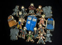 Dr who cookies! !!!!